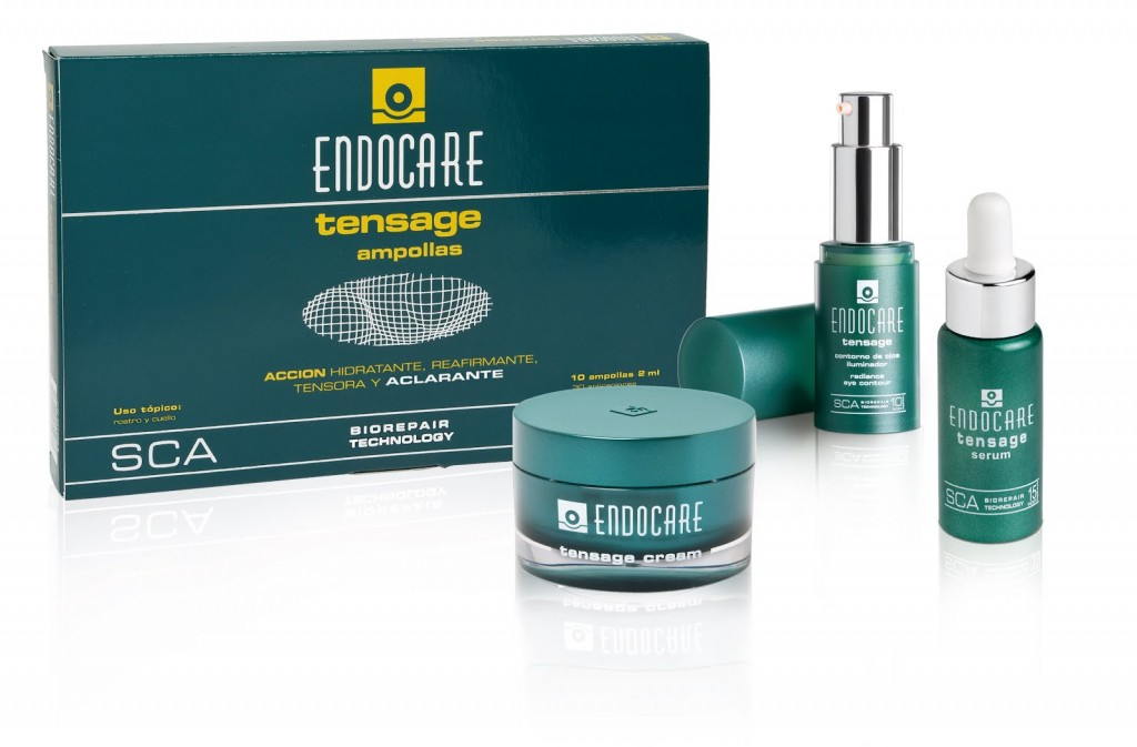 Endocare Tensage, гамма продуктов для упругости кожи