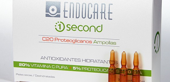 НОВЫЕ АМПУЛЫ ENDOCARE 1 SECOND C20 PROTEOGLICANOS